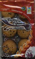 Cookies de espelta con chocolate - Producto - es
