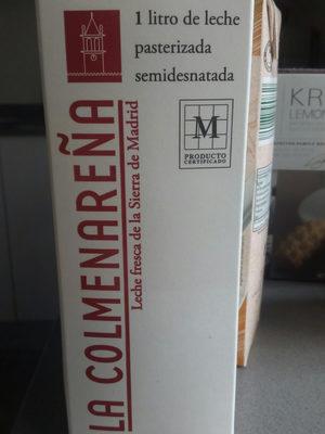 Leche fresca semidesnatada pasteurizada - Producto