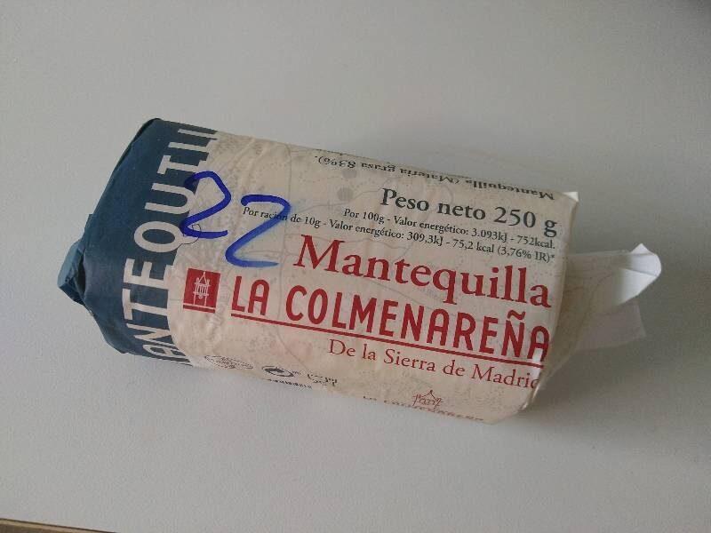 Mantequilla - Produit