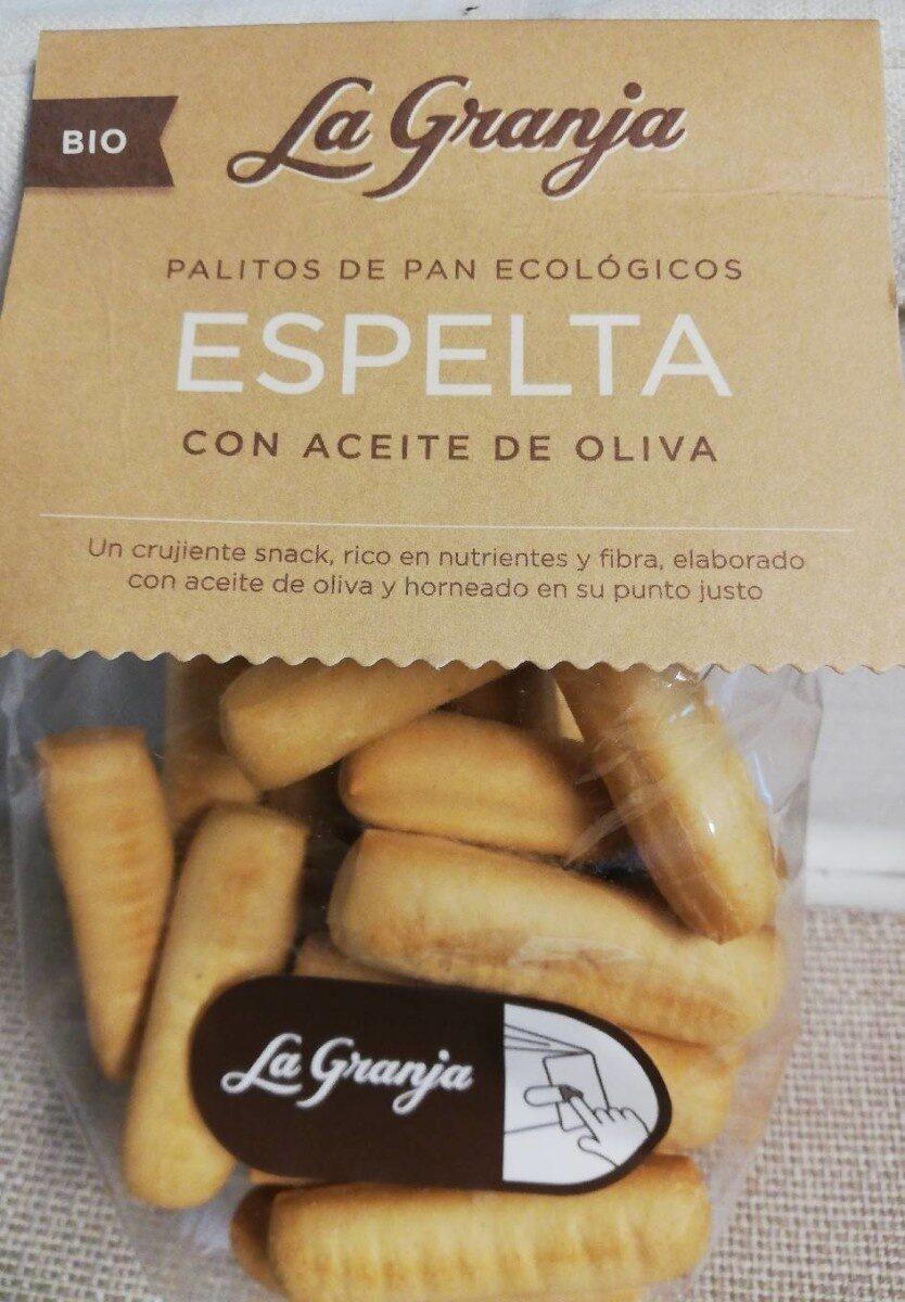 Palitos de pan de espelta ecológicos - Product