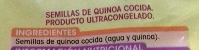 Semillas de Quinoa - Ingredientes