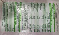 Judias verdes troceadas ecológicas - Información nutricional - es