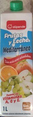 Frutas y leche Mediterráneo