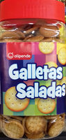 Galletas saladas - Producto - es