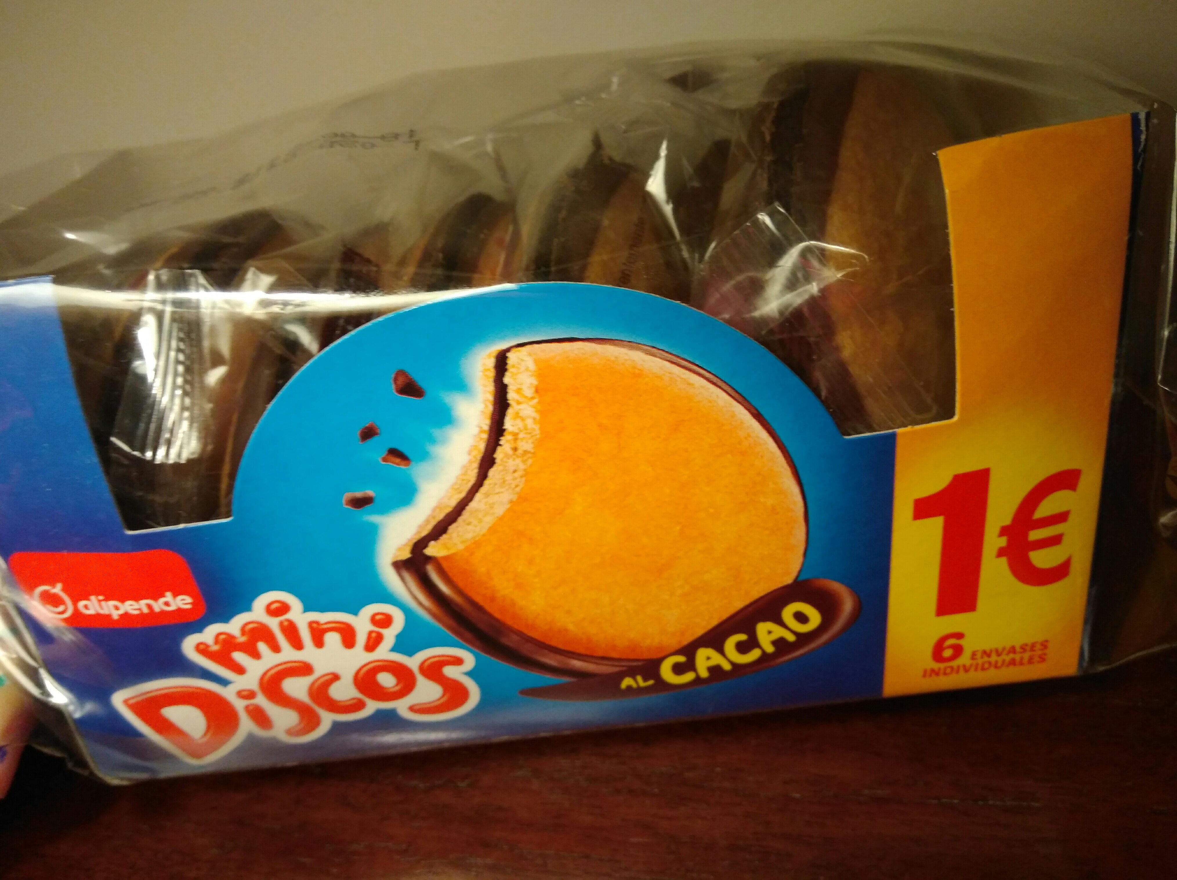 Mini discos al cacao - Producto - es