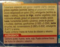 Mini discos al cacao - Ingredientes - es