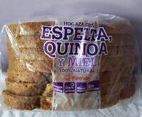 Hogaza con espelta,quinoa y miel - Prodotto - es