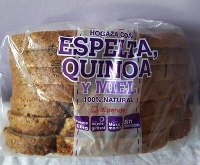 Hogaza con espelta,quinoa y miel - Prodotto