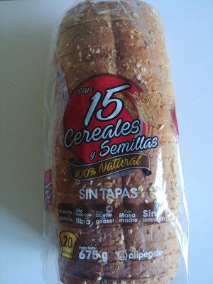 Pan 15 cereales y semillas - Producto