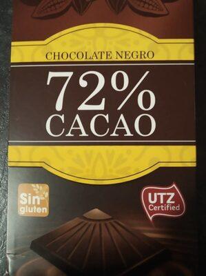 Chocolate negro 72%
