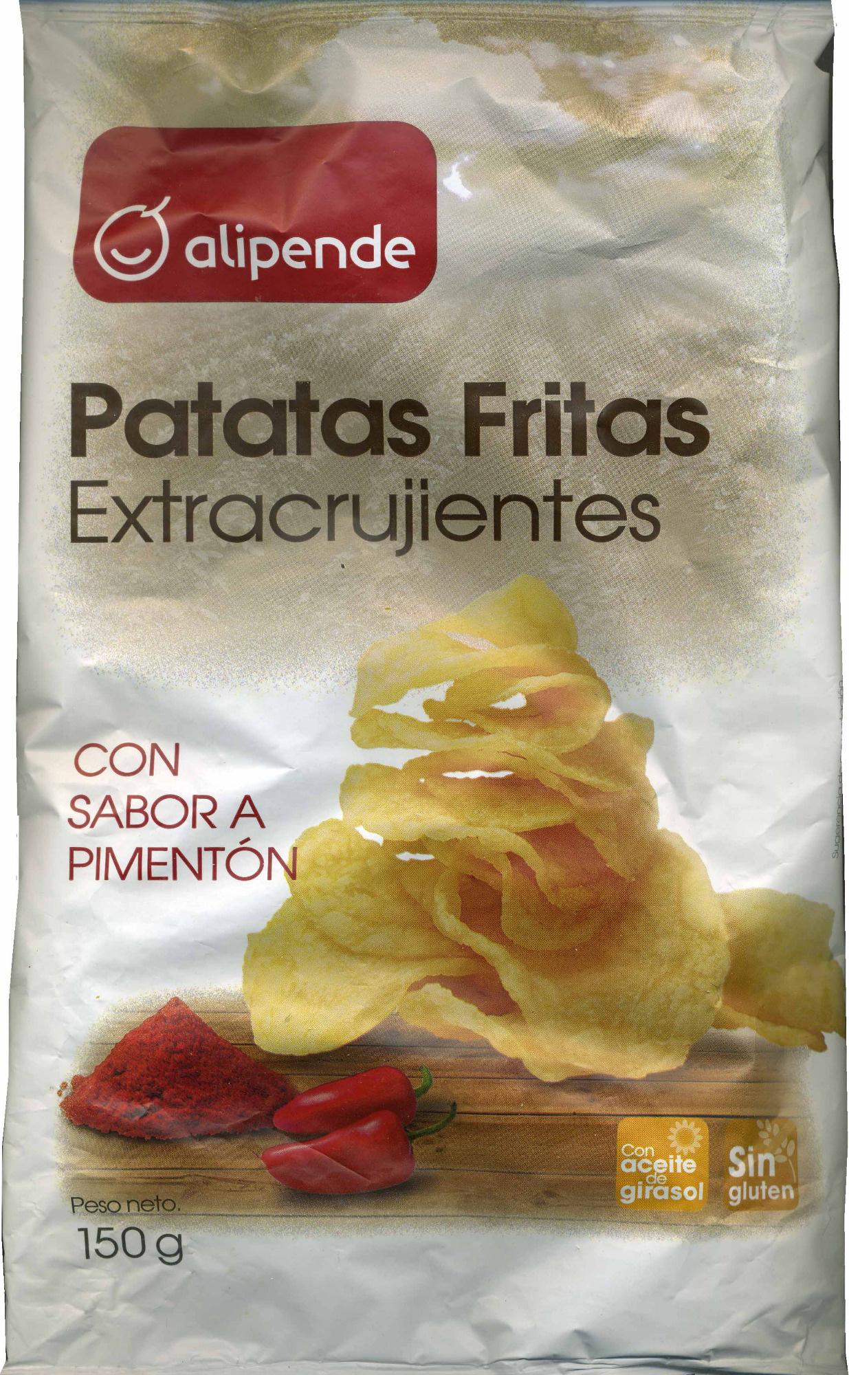 Patatas fritas extracrujientes con sabor a pimentón - Producto - es