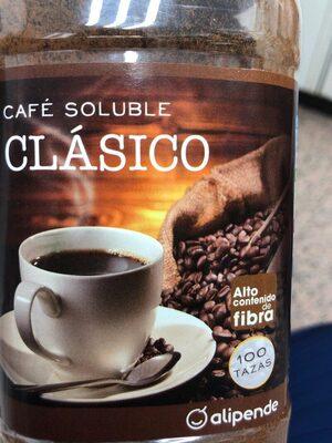 Café soluble clásico