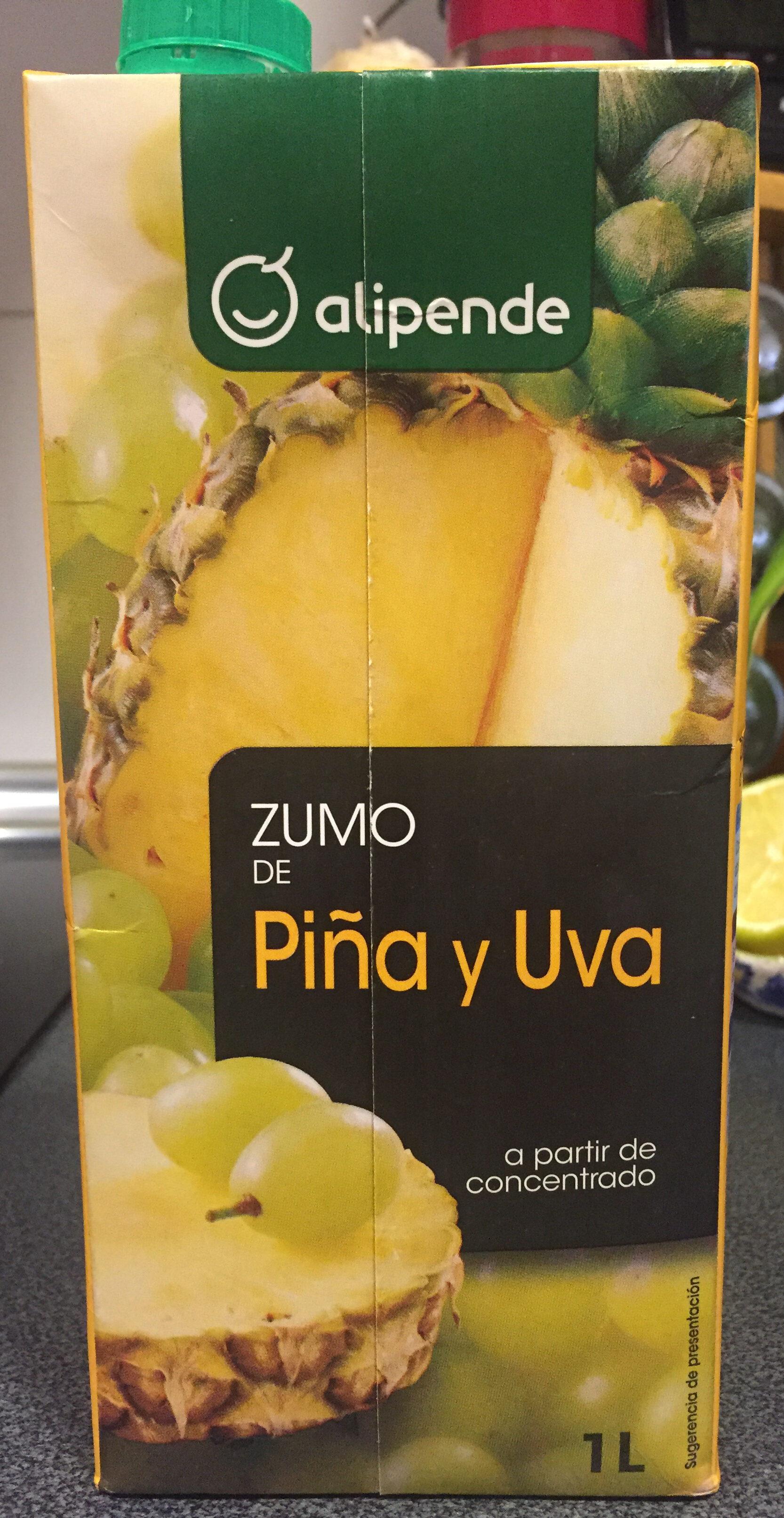 Zumo de piña y uva - Producto