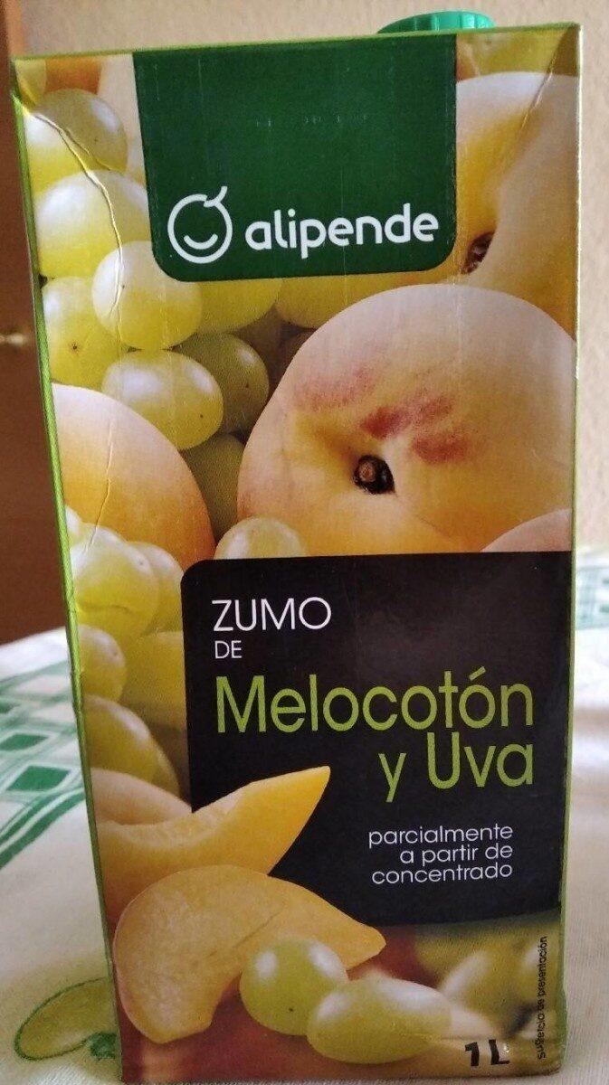 zumo de melocotón y uva - Producto