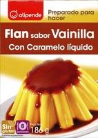 Preparado para hacer flan sabor vainilla con caramelo líquido - Product