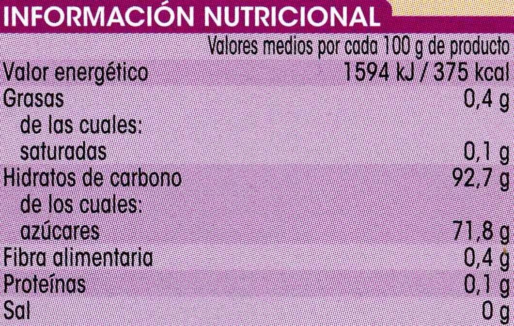 Preparado para hacer flan sabor vainilla con caramelo líquido - Voedingswaarden