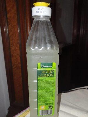 Agrio de limón - Producte