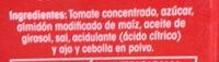 Tomate frito - Ingredients - es