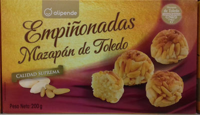 Empiñonadas Mazapán de Toledo - Producte