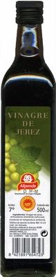 Vinagre de Jerez - Produit