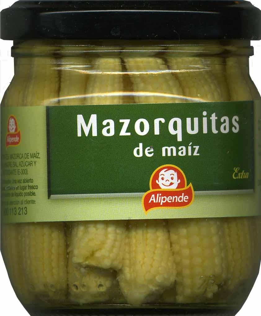 Mazorquitas de maiz Extra - Producto