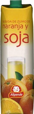"""Bebida de zumo y soja """"Alipende"""" Naranja - Produit"""