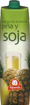 """Bebida de zumo y soja """"Alipende"""" Piña - Product"""