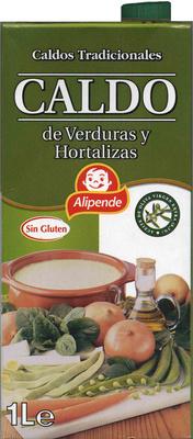 Caldo de Verduras y Hortalizas - Producto - es