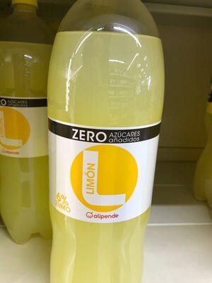 Refresco Limón Zero azúcares añadidos