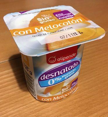 Yogurt desnatado melocotón - Producto