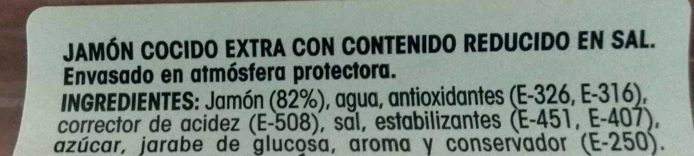 Jamón Cocido - Ingredients - en