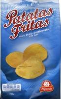 Patatas fritas bajo contenido en sal - Producto - es