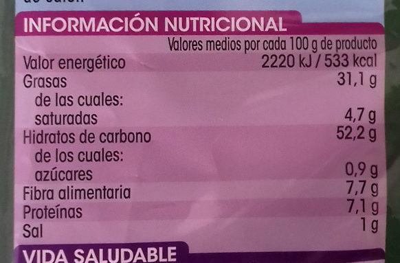 Patatas fritas en aceite de oliva - Información nutricional - es