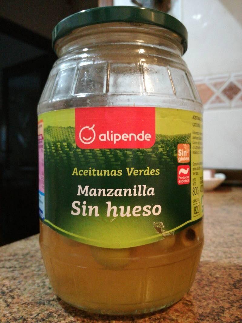 Aceitunas verdes manzanilla sin hueso - Product - es