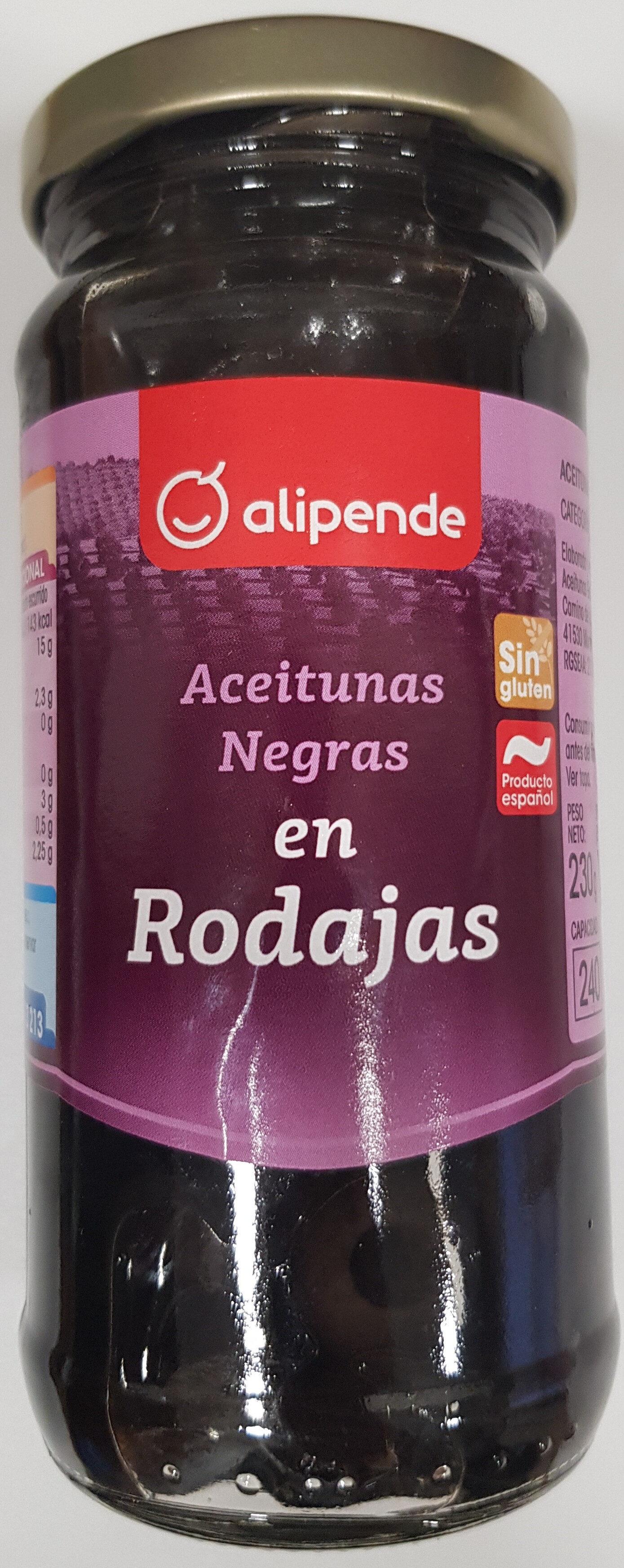 Aceitunas Negras en Rodajas - Producto - es