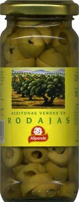 Aceitunas verdes en rodajas - Producte - es