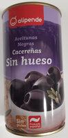 Aceitunas Negras sin hueso - Producte - es