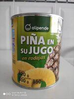 Piña en su jugo en rodajas - Produit - es