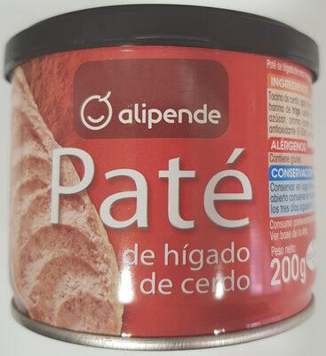 Paté de higado de cerdo - Produit - es