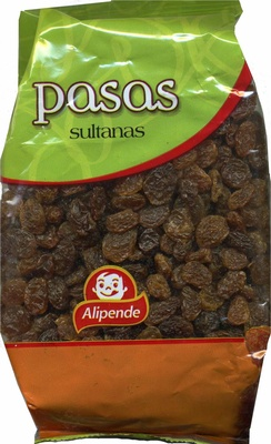 "Uvas pasas ""Alipende"" Variedad Sultana - Producto - es"