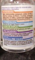 Edulcorante líquido - Voedigswaarden
