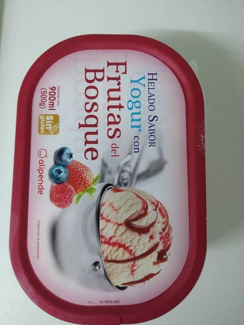 Helado Sabor Yogur con Frutas del bosque - Produit - es