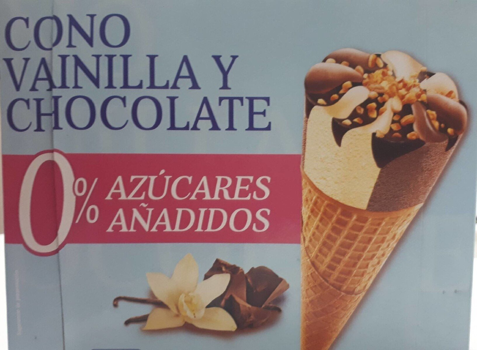 Cono vainilla y chocolate - Produit