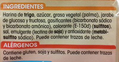 Galleta tostada - Ingredientes - es
