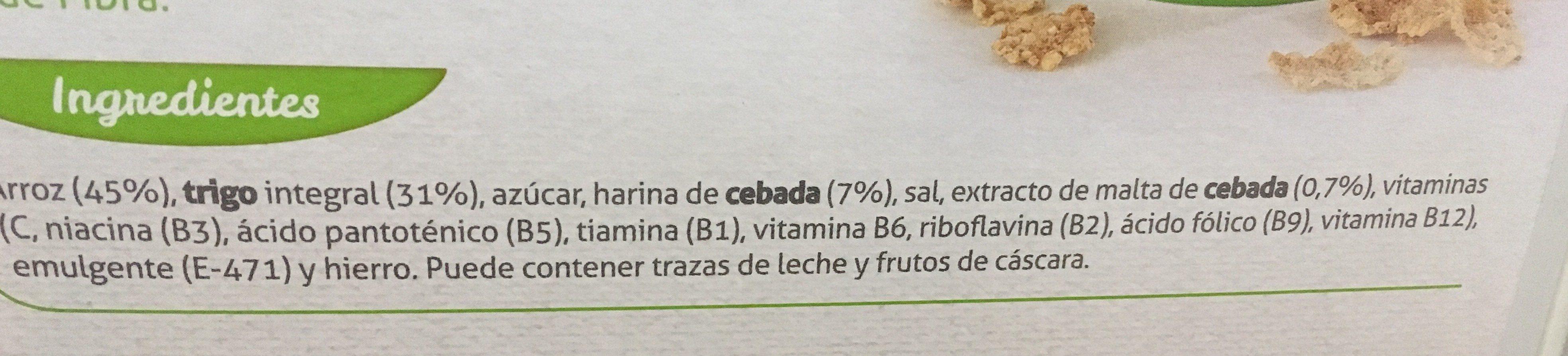 Integral - Ingredientes - fr