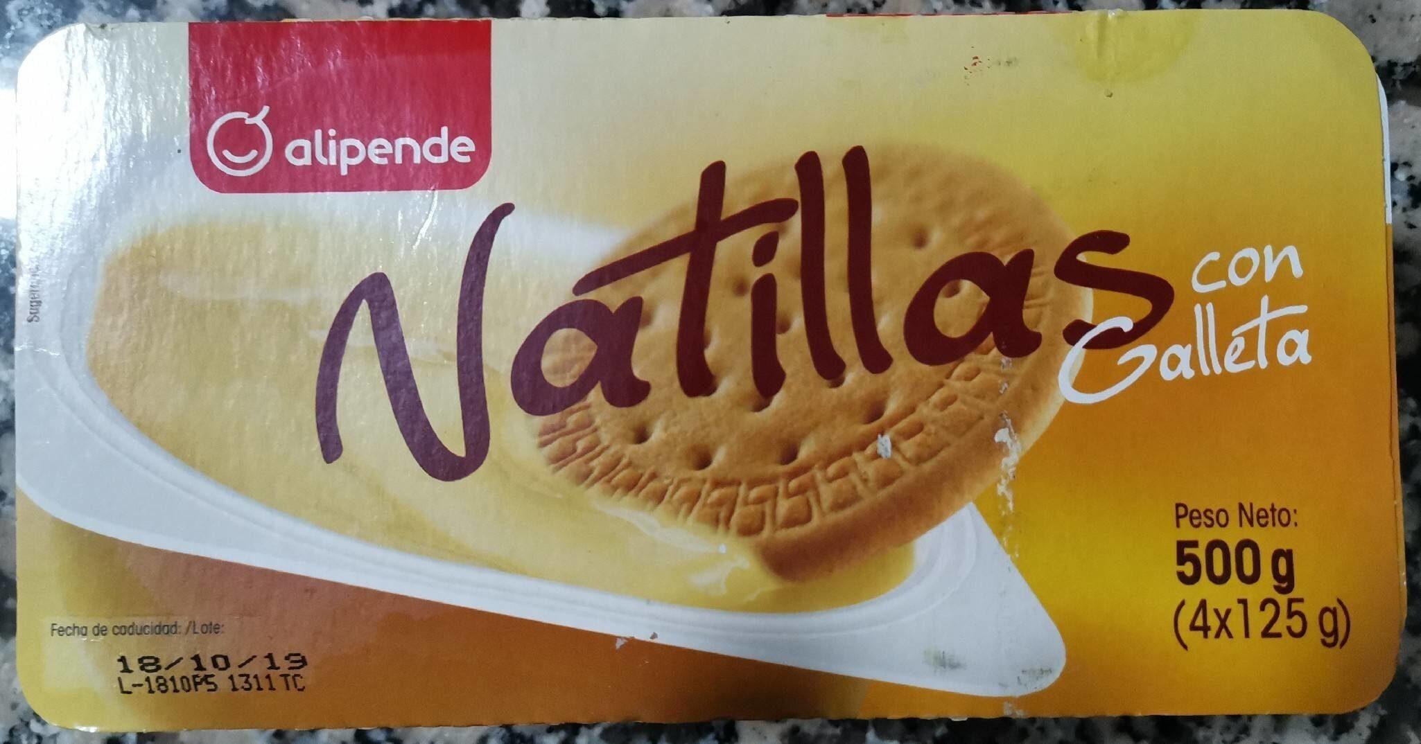 Natillas con Galleta - Product