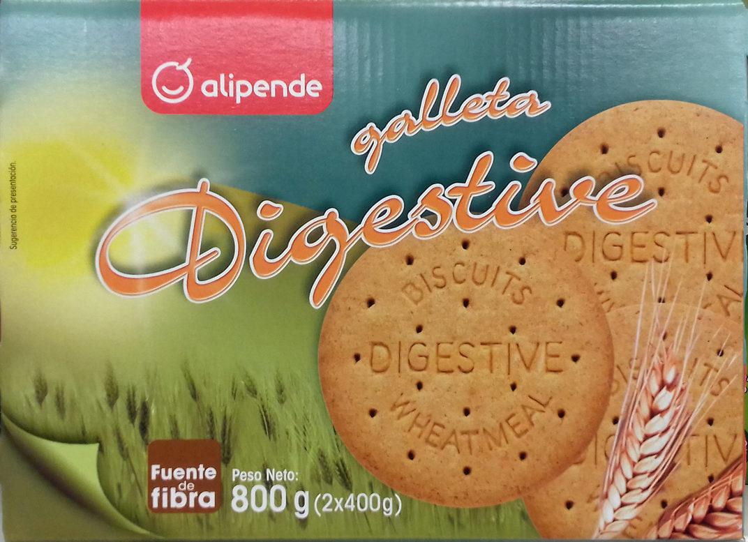 dfad8f3afa Galleta Digestive - Alipende - 800 g (2 x 400 g)