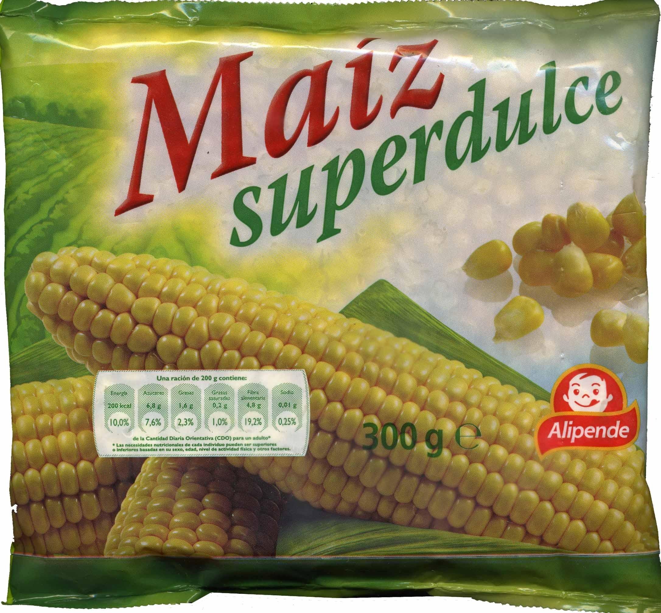 Maiz superdulce - Producto - es