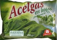 """Acelgas en hojas congeladas """"Alipende"""" - Producto"""