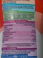 Leche condensada - Nutrition facts